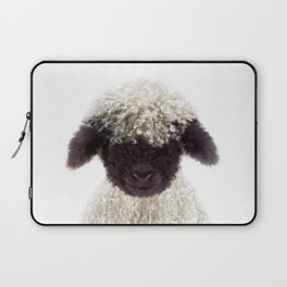 Baby Lamb, Baby Animals Art Print By Synplus Laptop Sleeve