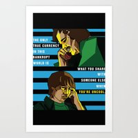 almost famous Art Prints featuring When You're Uncool: Almost Famous by Margaret Andersen
