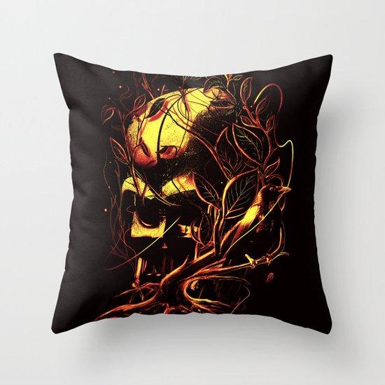 VADER II Throw Pillow