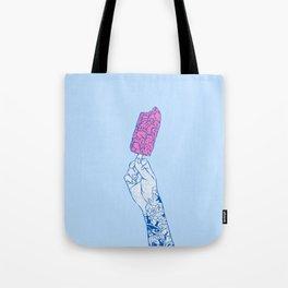 Brain ice cream! mmmmm Tote Bag