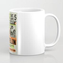 ZEPPELIN CONCERT VINTAGE POSTER Coffee Mug