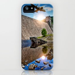 Over the Dam iPhone Case