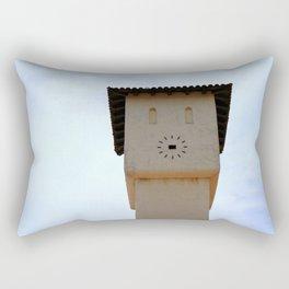 Missing Clock Rectangular Pillow