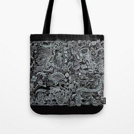 Ancient Figures II Tote Bag