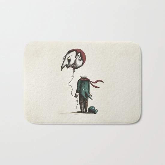 And His Head Swelled with Pride... Bath Mat