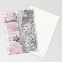 Portland Pigeons - Big Pink Stationery Cards