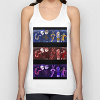 shakespeare Tank Tops featuring Shakespeare Kids by Louisa Lawler