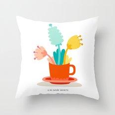 Cup Throw Pillow