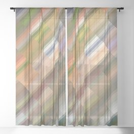 Merry turmoil. Abstract gradient art geometric background with soft color tone, cell grid. Ideal for Sheer Curtain
