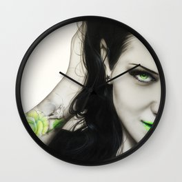 'Rose Of Envy' Wall Clock
