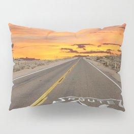 Route 66 Pillow Sham