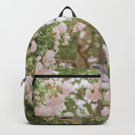 Roses Bloom in the Village Backpack