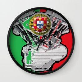 Patria Shovel Wall Clock