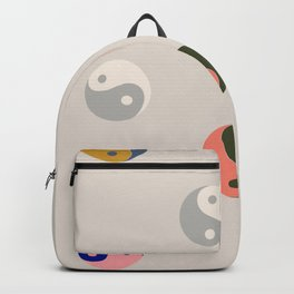Ying and yang  Backpack