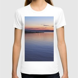 A sunset view of Ballyholme T-shirt
