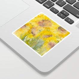 Sunburst Sticker