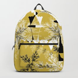 3 Black and White Queens (Golden) Backpack