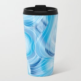 Bathymetry Metal Travel Mug