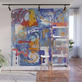 Shamanic Painting 01 Wall Mural