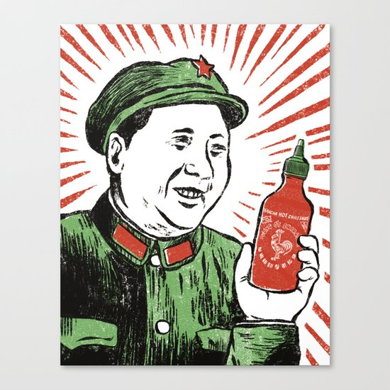 Mao Sauce Canvas Print