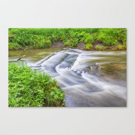 Let It Flow Canvas Print
