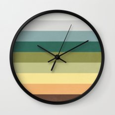 His Spring Wall Clock