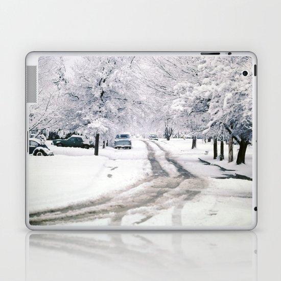 Winter on Beechwood Lane Laptop & iPad Skin