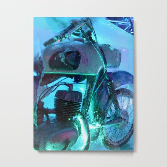Ice Motorbike 1 Metal Print