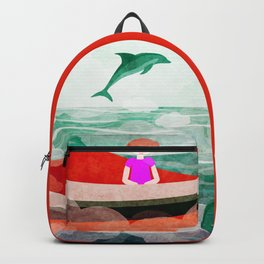 When dolphins are around 5 Backpack