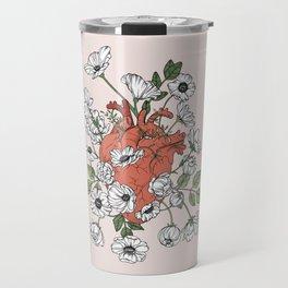 Blooming Heart Travel Mug