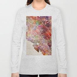 Oakland map Long Sleeve T-shirt