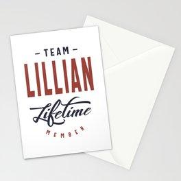 Team Lillian Lifetime Member Stationery Cards
