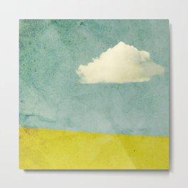 One Cloud Metal Print