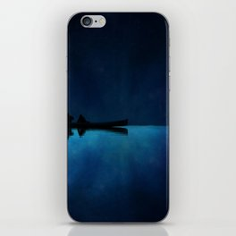 Canoe at Night iPhone Skin