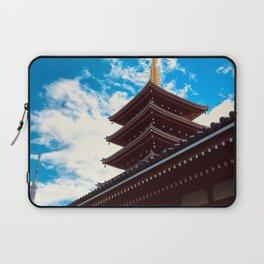 Asakusa Past and Present Laptop Sleeve