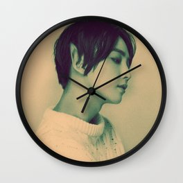 Elf Jeonghan Wall Clock
