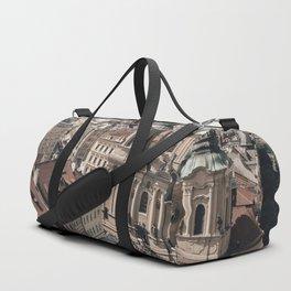 Prague Rooftop 01 Duffle Bag