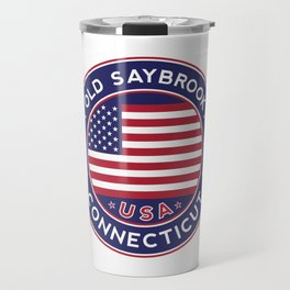 Old Saybrook, Connecticut Travel Mug
