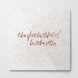 empowered woman Metal Print