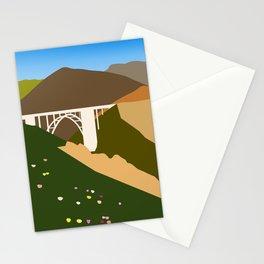 Big Sur Illustration Stationery Cards