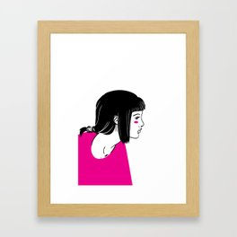 Girl 1 Framed Art Print