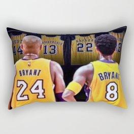 Mamba Out Rectangular Pillow