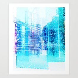 Glistening Art Print