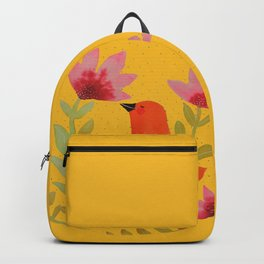 mandala bird Backpack
