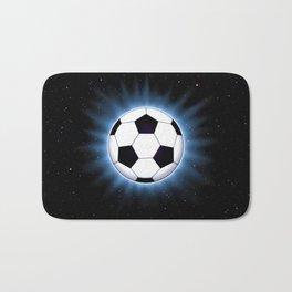 Spacey Soccer Ball Bath Mat