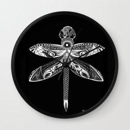 The Night Dragonfly Wall Clock