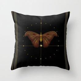 Atlas moth 2020  Throw Pillow