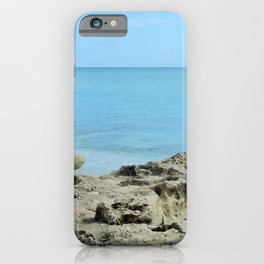 santa lucia beach iPhone Case