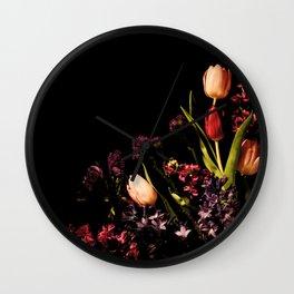 Spring Corner Wall Clock