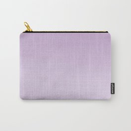 Ombre fade pastel lilac purple trendy color way throwback retro palette 80s 90s style Carry-All Pouch